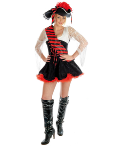Plus size Flirty Pirate Costume